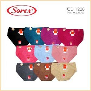 Celana Dalam Wanita Sorex 1251 Xl 6pcs cd wanita ukuran xl sorex 1228 cd ukuran xl terbaru