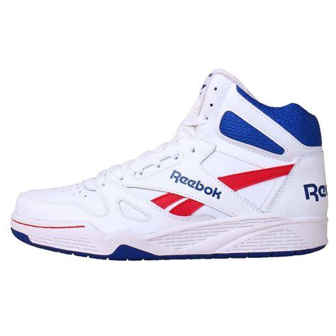 white and blue sneakers reebok royal bb4500 hi white blue 2014 mens retro