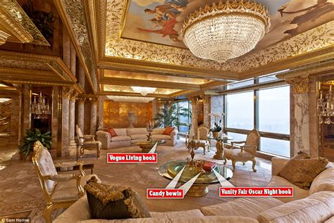 Trump Gold Room | donald trump s 100m new york city penthouse in pictures