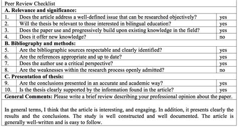 Essay Feedback Checklist by Research Paper Editing Checklist Order Custom Essay Attractionsxpress