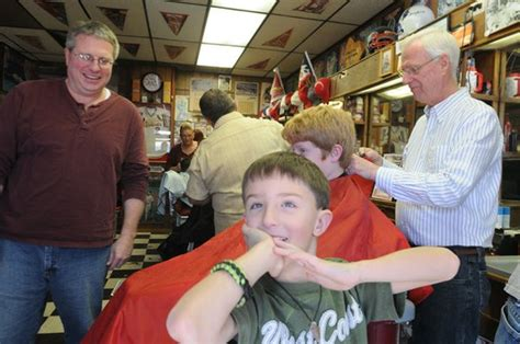 haircuts fayetteville arkansas barbers cut hair for good cause nwadg