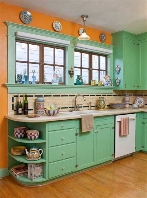 mid century modern kitchen design ideas interiors with vintage charm