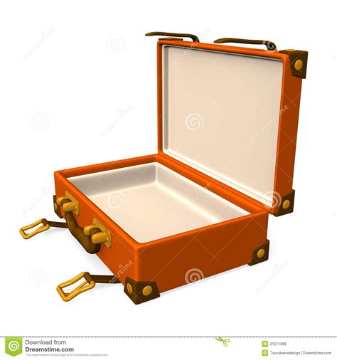 Open Suitcase Clipart open classical luggage royalty free stock images image