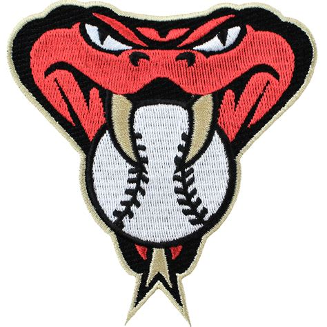 arizona diamondbacks colors arizona diamondbacks snake mlb embroided jersey patch