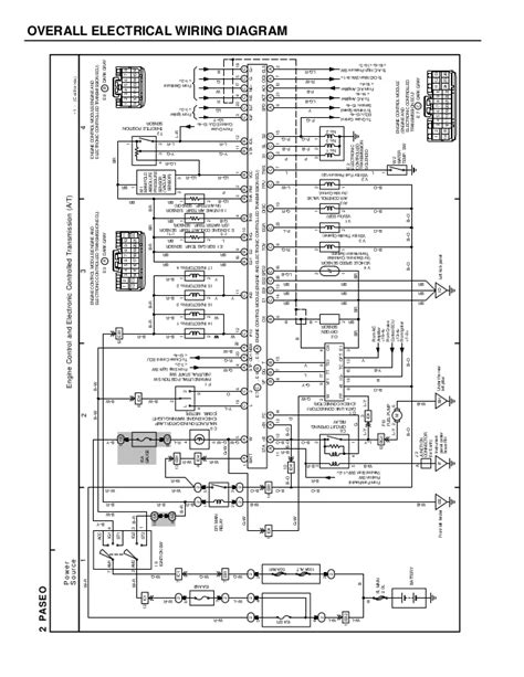 wiring diagram paseo pinout diagrams wiring diagrams