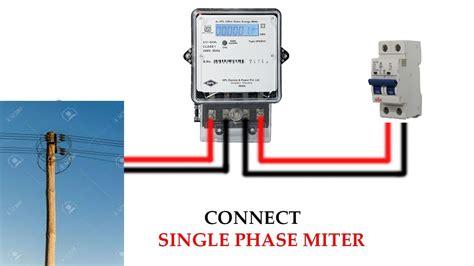 single phase meter wiring diagram zonar wiring diagram
