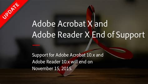 how to upgrade adobe reader 9 to x adobe acrobat x and adobe reader x end of support adobe