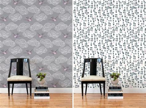 fancy wallpaper   chic wall decoration interior