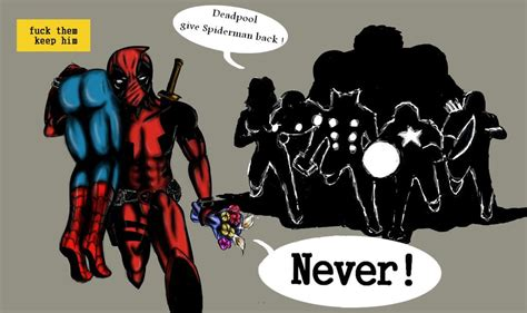 Talluna Top deadpool kidnaps froggy90 marvel archive of our own
