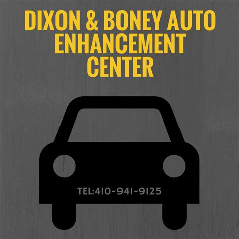Dixon & Boney Auto Enhancement Center Coupons near me in