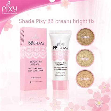 Bedak Pixy Acne Brite pixy bb bright fix 30ml elevenia