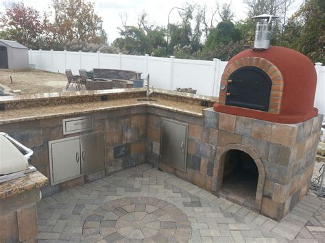 outdoor kitchen designs with pizza oven outdoor pizza oven pictures