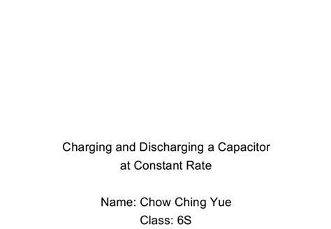 charging and discharging a capacitor pdf charging and discharging of capacitor pdf 28 images charge discharge capacitor circuit 28