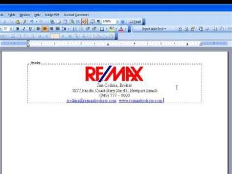 How To Create A Letterhead Template In Word how to design your own letterhead in ms word
