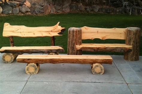 log bench designs the 25 best log benches ideas on pinterest log