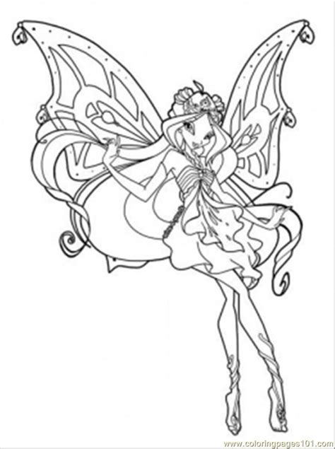 winx coloring page az coloring pages