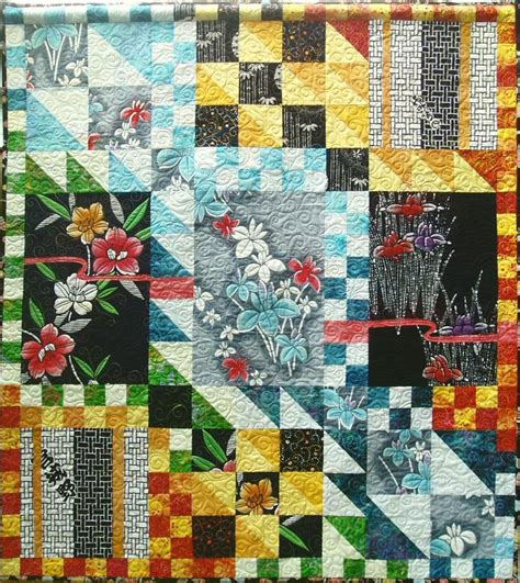 Japanese Patchwork Patterns - quilt inspiration japanese quilts