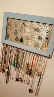 ways to hang pictures diy the most coolest hanger ideas for your jewelry storage
