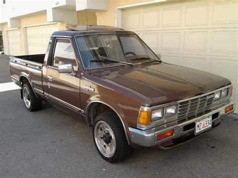 nissan datsun 1983 jcjflores 1983 nissan 720 pick up specs photos