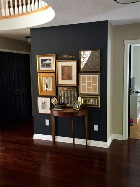 benjamin color gallery benjamin wrought iron gallery wall with gold frames