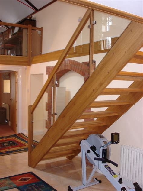 wood stair case bespoke wooden staircase alton hshire timber stair