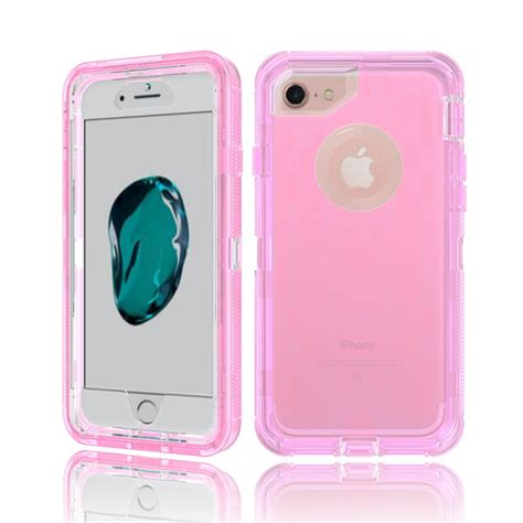 Pink Iphone Cases On The Cheap by Wholesale Iphone 7 Plus 6s Plus 6 Plus Transparent Armor