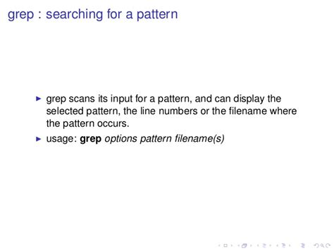 grep pattern line number lnx