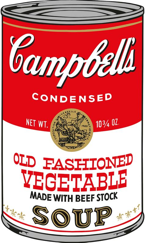 andy warhol soup cans warhol cbell s soup ginaart