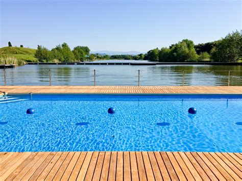 sle pool lakeside relaxation spot in roquebrune sur argens darkobeach