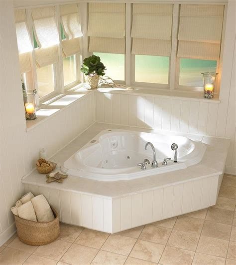 jacuzzi style bathtubs this beautiful tub comes in a corner installation style