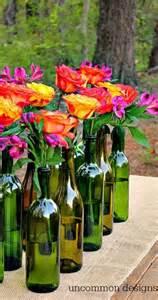 Elegant Glass Vases Wine Wedding Easy And Elegant Wine Bottle Centerpiece