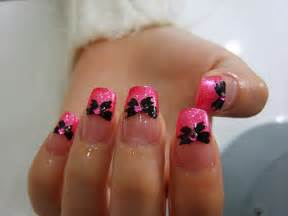 black butterflyr cute nails image 329658 on