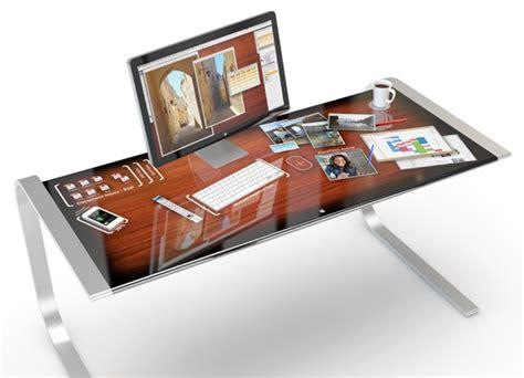 scrivania per imac idesk apple potrebbe creare una scrivania multitouch