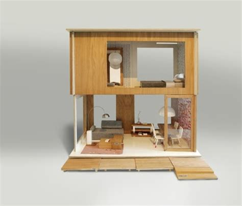 dollhouse modern rafa kids design in poland modern dollhouse by miniio
