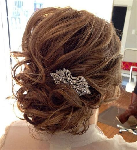Wedding Hairstyles For Medium Length Hair To The Side by Wedding Updos For Medium Length Hairstyles