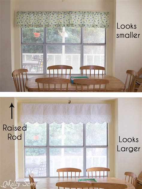how to sew valance curtains sew valances scalloped curtains or valances melly sews