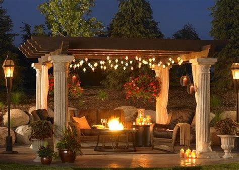 decorating backyard with lights patio lighting ideas color me creative christmas lights etc blog