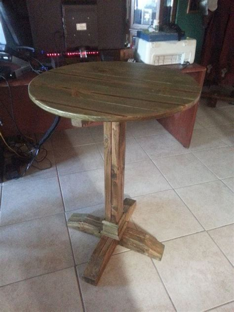 reclaimed wood pub table  medievaltourney  etsy