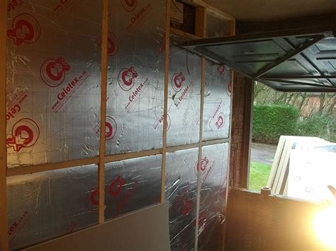 How To Insulate A Garage Wall by Convert Garage Into A Bedroom Construction Diary Before