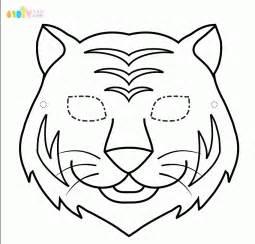 老虎面具手工 综合其它 巧巧手幼儿手工网