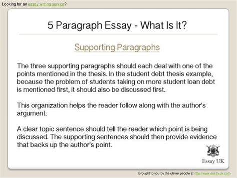 Five Paragraph Argumentative Essay Sle what is 5 paragraph essay 28 images 7th grade 5