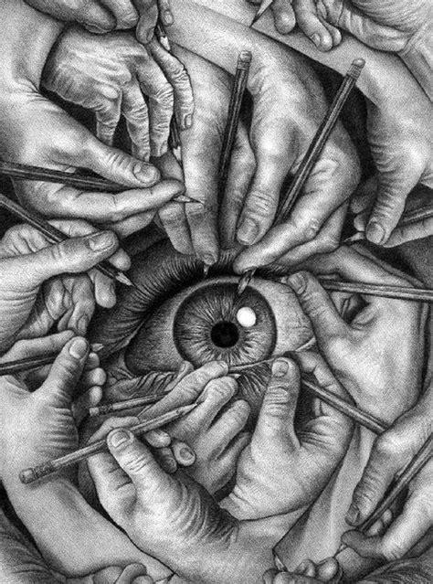 M C Escher Sketches by 25 Best Ideas About Escher On Drawing