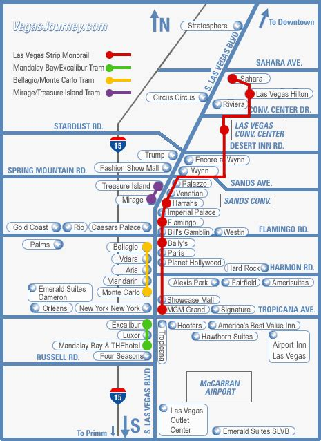 las vegas tram map out in las vegas transportation purple roofs