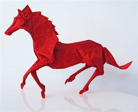 Origami Horses - 10 amazing origami animals by matthieu georger