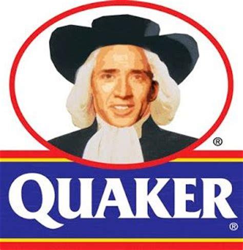 Quaker Memes - quaker oats nic cage pinterest