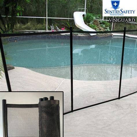 diy mesh pool fence visiguard mesh fencing easy diy installation