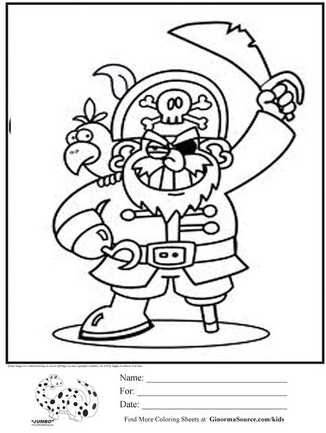 Free Coloring Pages Of Pirates Pirate Coloring Pages Coloringpages1001