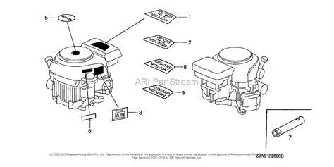 honda gxv530 parts diagram honda auto wiring diagram
