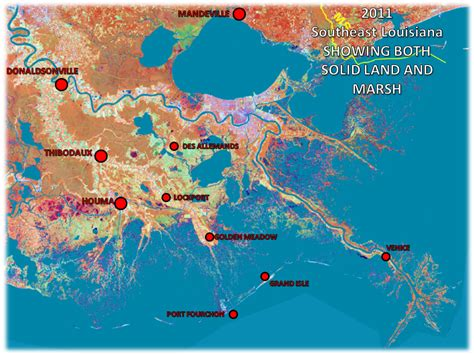 Louisiana Flood Maps by Louisiana Residents Concerned About The Coastline Scicommlsu