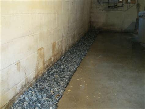 basic steps  installing  french drain basement french drain diy vendermicasa